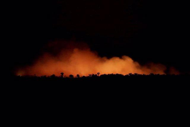 Incendios en la selva del Amazonas, en Humaita