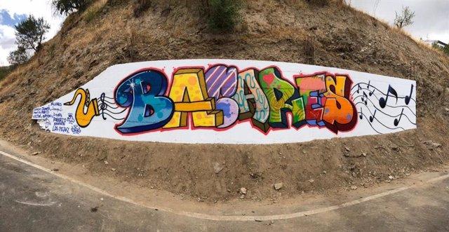 Grafiti en Bacares