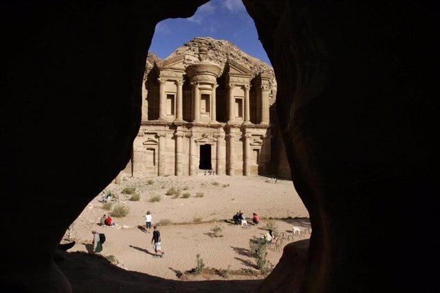Antigua ciudad de Petra, en Jordania