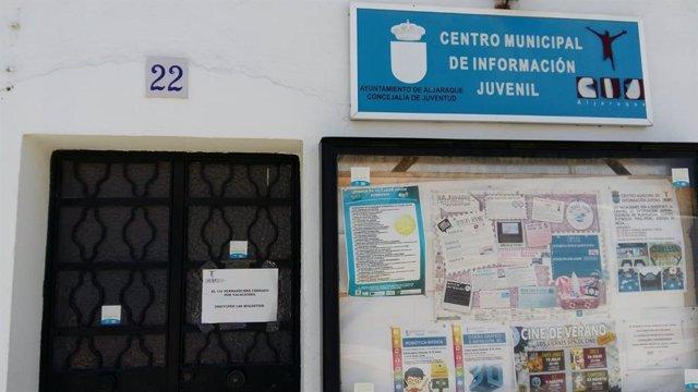 El Centro de Información Juvenil (CIJ) cerrado por vacaciones