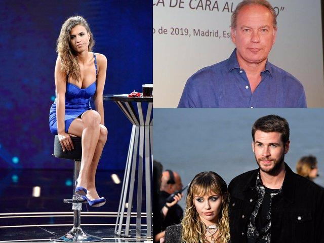 Sofía Suescun, Bertín Osborne y Miley y Liam