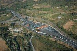 Circulació intensa a l'AP-7 a la Jonquera (Girona) coincidint amb el G7 (STC-ARCHIVO)