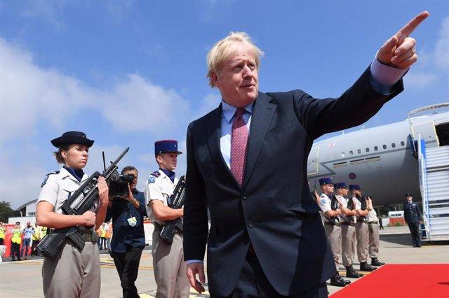 Boris Johnson viaja a Biarritz para asistir a la cumbre del G7