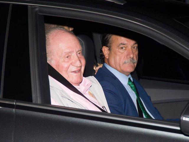 El Rey Don Juan Carlos I ingresa en la clínca Quirón de Madrid