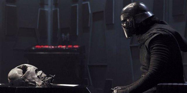 Kylo Ren en Star Wars VII: El despertar de la Fuerza