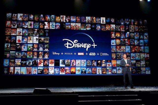Presentación de Disney+ en la D23 Expo