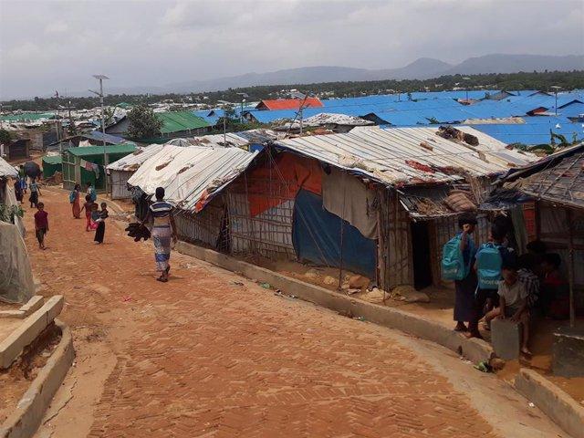 Refugiados rohingyas en Bangladesh