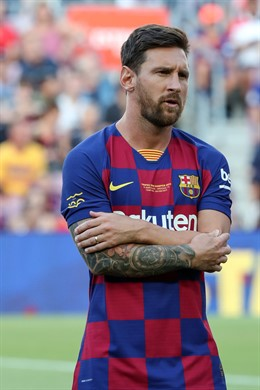 Lionel Messi of FC Barcelona during the Joan Gamper Trophy 2019, football match between FC Barcelona and Arsenal FC on August 04, 2019 at Camp Nou stadium in Barcelona, Spain. - Photo Manuel Blondeau / AOP Press / DPPI