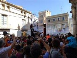 El Vendrell (Tarragona) celebra la tornada de la parella de gegants robats (AYUNTAMIENTO EL VENDRELL)