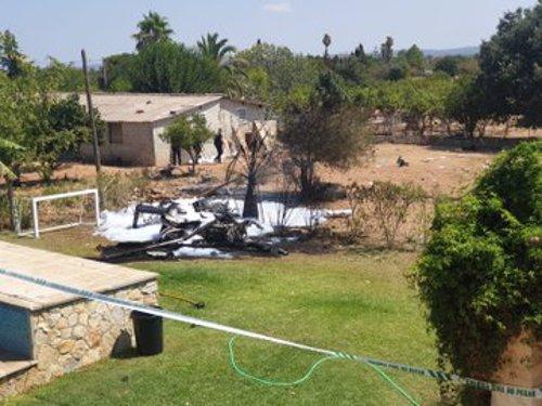 Accidente aéreo en Inca, Mallorca