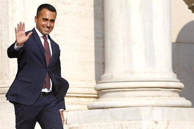 El líder del Movimiento 5 Estrellas (M5S), Luigi Di Maio