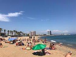 Els artificiers de l'armada faran explotar el dilluns el projectil trobat a Barcelona (EUROPA PRESS)
