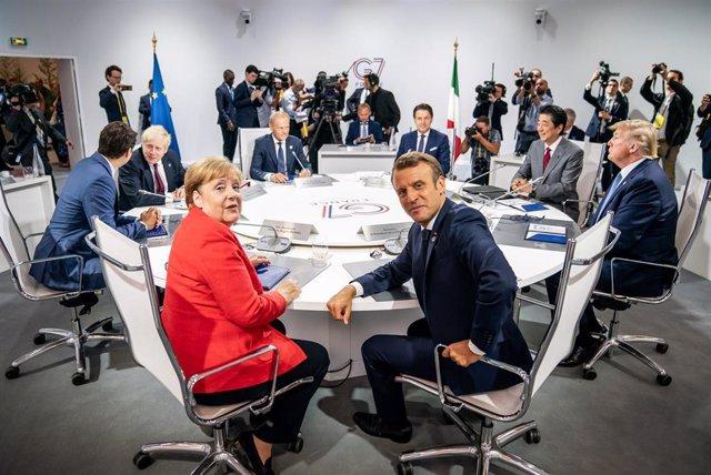 Cumbre del G7 en Biarritz, Francia