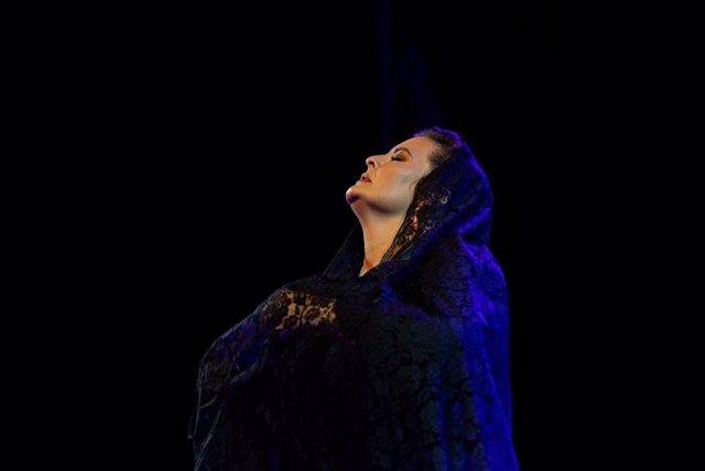 La bailaora y coreógrafa jerezana María del Mar Moreno