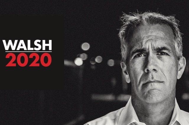 El precandidato presidencial repblicano Joe Walsh