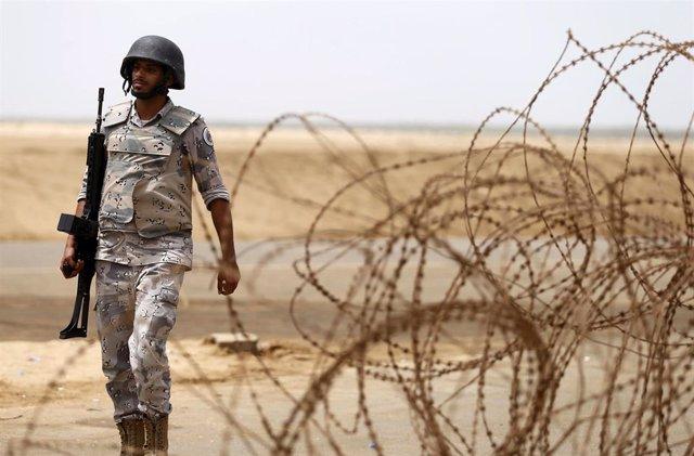Soldado saudí en Yizán