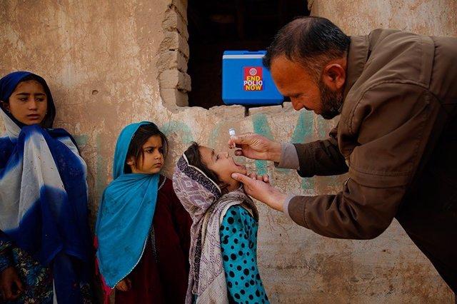 Campaña contra la polio en Pakistán