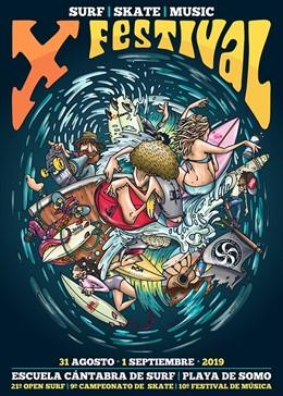 El Festival Escuela Cántabra de Surf volverá a Somo del 30 de agosto al 1 de septiembre