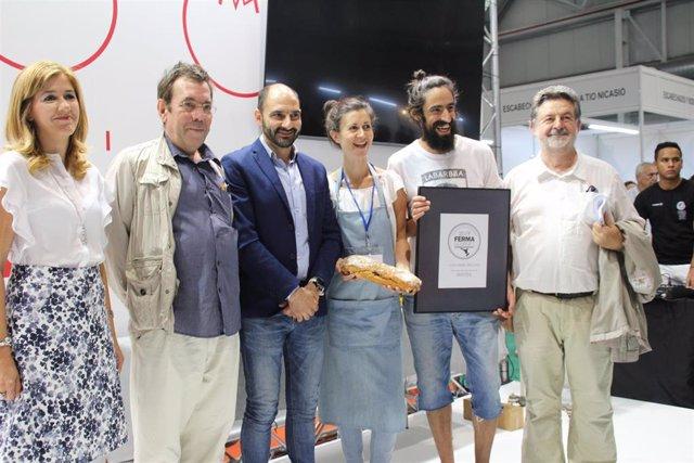 El Pan Somontano, de Naval, logra el Premio FERMAGourmet y clausura la Feria de Barbastro