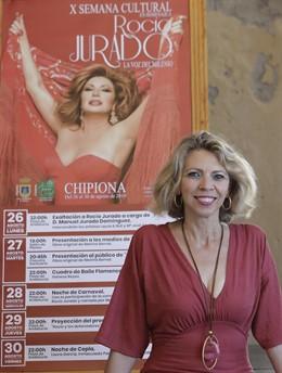 La periodista Marina Bernal presenta este martes en Chipiona su libro 'Canta, Rocío, Canta' sobre Rocío Jurado