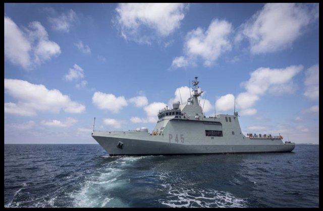 El patruller 'Audaç' de l'Armada