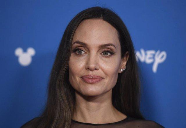 Angelina Jolie en la D23 Expo 2019