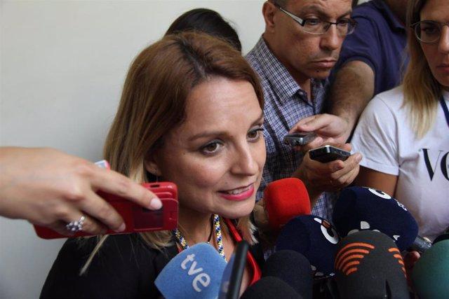 Consejera de Derechos Sociales, Igualdad, Diversidad y Juventud del Gobierno de Canarias, Noemí Santana