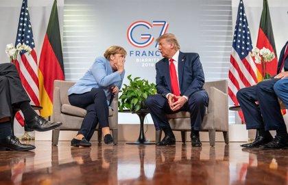 """Irán.- Trump afirma que el G7 tiene una """"gran unidad"""" sobre Irán"""