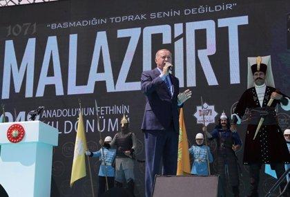 """Siria.- Erdogan anuncia el inicio """"muy pronto"""" de una nueva ofensiva contra los kurdos sirios"""