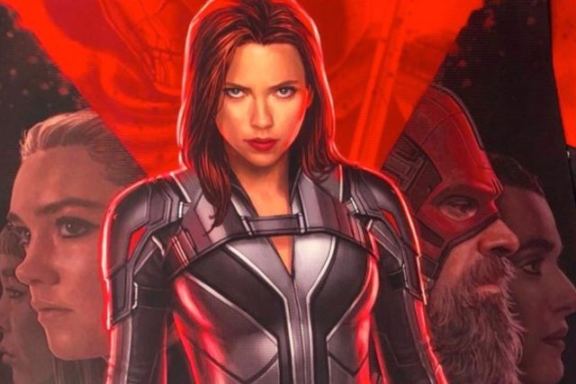 Póster de Black Widow, la película de Marvel protagonizada por Scarlett Johansson