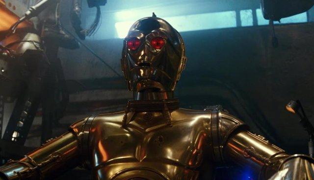 Imagen de C-3PO en Star Wars: El ascenso de Skywalker