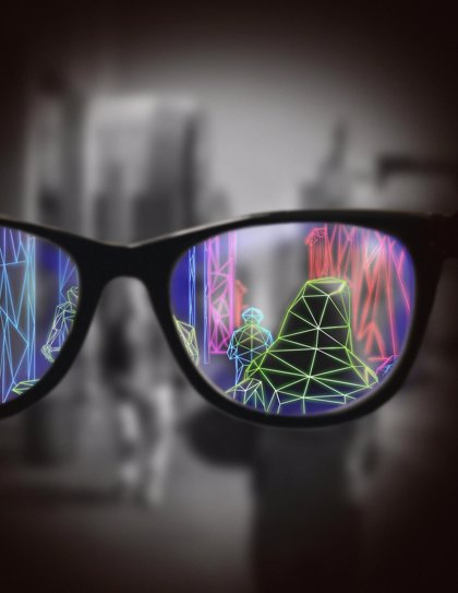 Las gafas de realidad aumentada pueden ayudar a las personas con baja visión a moverse mejor