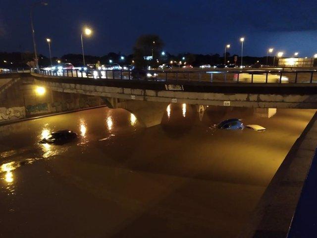 Inundaciones en Madrid por las tormentas