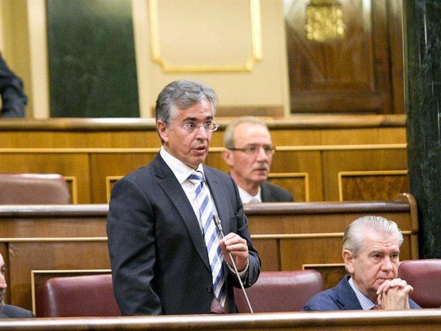 Rogelio Araujo, en una imagen en 2012 como diputado en el Congreso