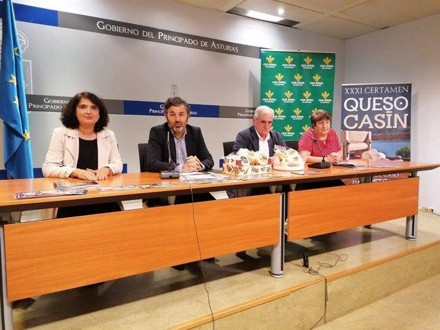 Presentación del Certamen de Queso Casín.