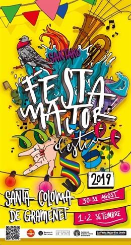 Programa de la Festa Major de Santa Coloma de Gramenet (Barcelona)