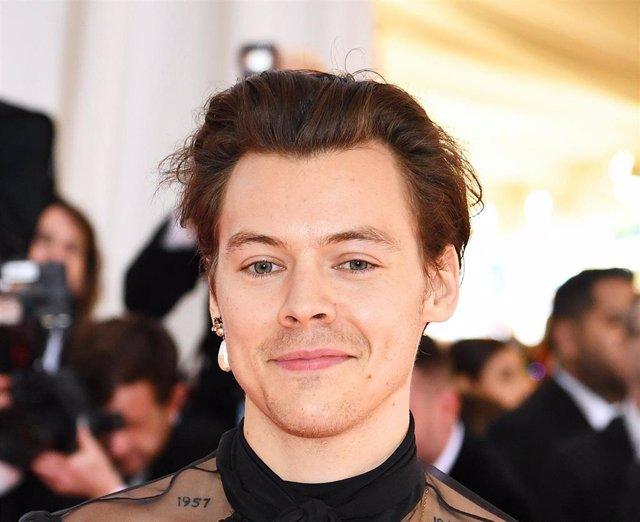 Harry Styles en la Met gala de 2019