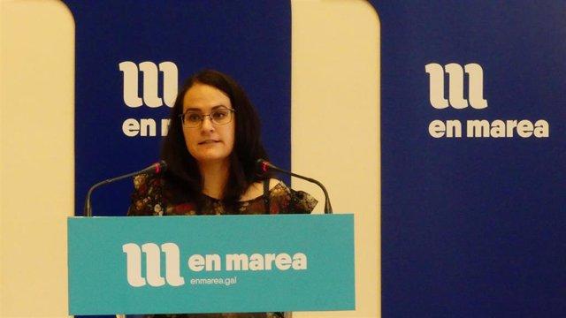 La diputada de En Marea Paula Vázquez Verao