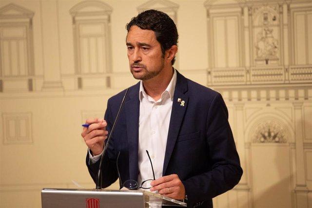 El conseller de Territorio y Sostenibilidad, Damià Calvet, en una imagen de archivo.