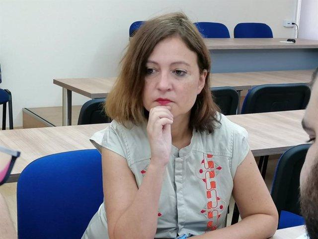 La Directora del Instituto Asturiano de la Mujer, Almudena Cueto.