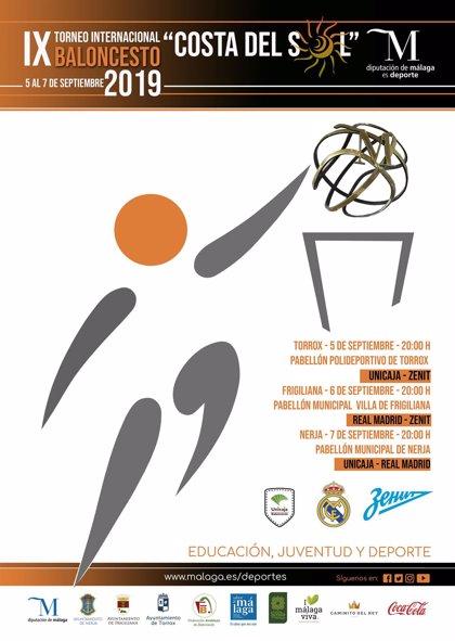 Torrox, Frigiliana y Nerja se preparan para el Torneo Internacional de Baloncesto Costa del Sol