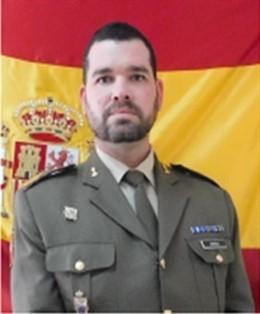 Sargento primero del Ejército de Tierra,  Juan Ardura Santa Engracia.