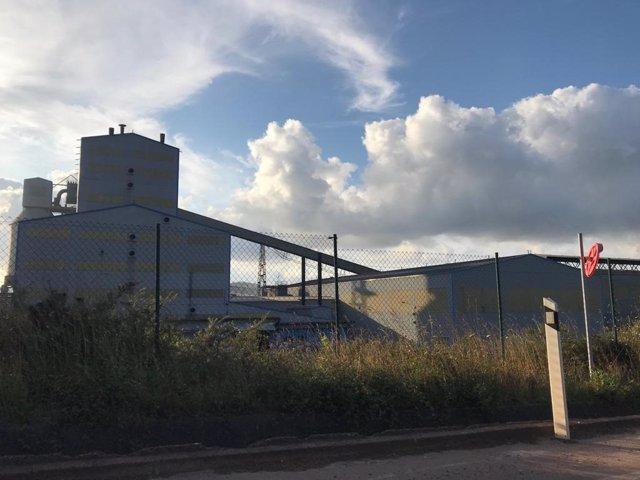 Fábrica de Alcoa en San Cibrao