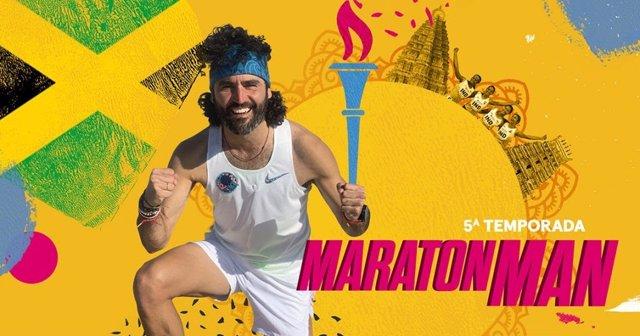 Raúl Gómez es 'Maraton Man', cuya quinta temporada llega a #0 el 15 de septiembre