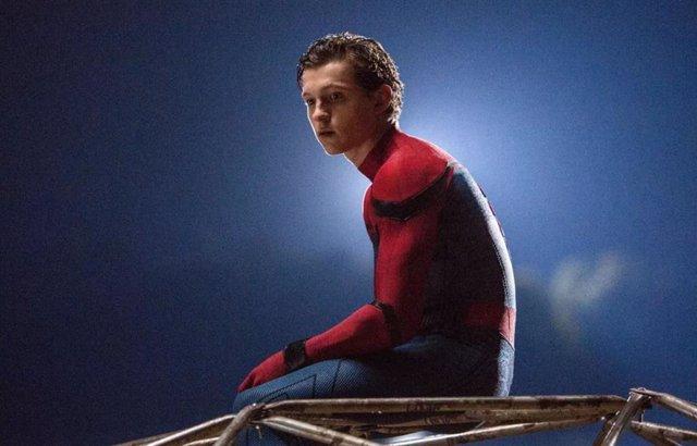 Imagen de Tom Holland como Spider-Man