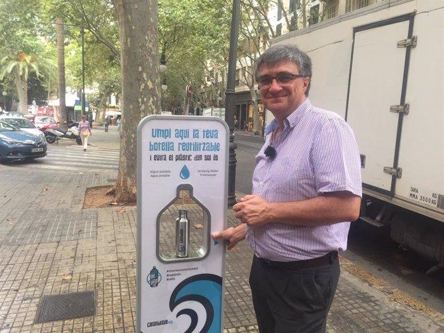 El president d'EMAYA i regidor de Medi ambient i Benestar Animal, Ramon Vicenç Perpinyà.
