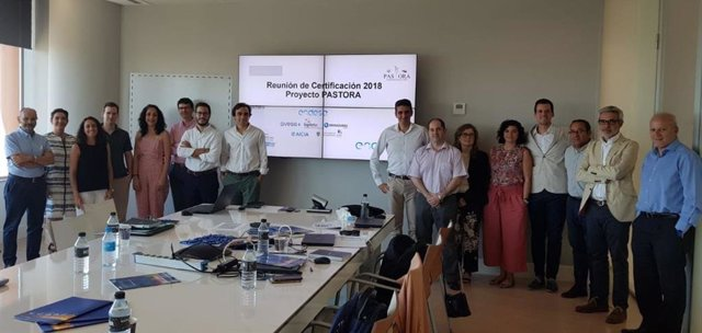El equipo de trabajo del consorcio 'Pastora', liderado por Endesa