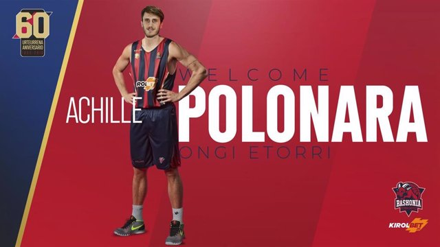 Achille Polonara ficha por el Baskonia