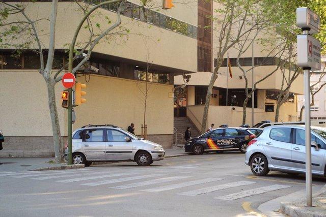 Prefectura de la Policia Nacional a Palma, al carrer Simó Ballester