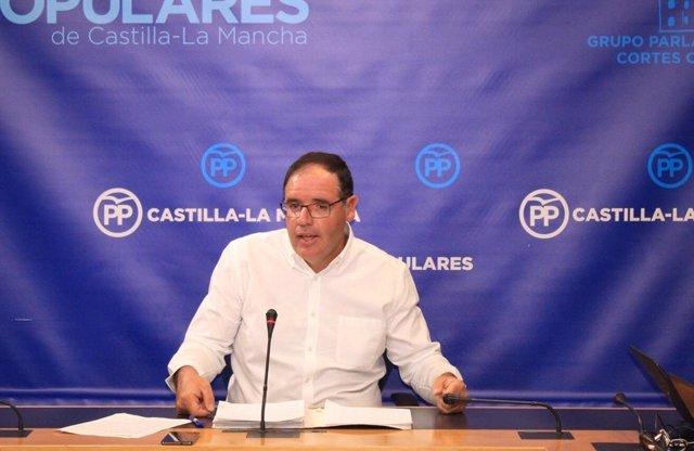 Gpp Clm (Cortes De Voz Y Fotografía) Rueda De Prensa De Benjamín Prieto